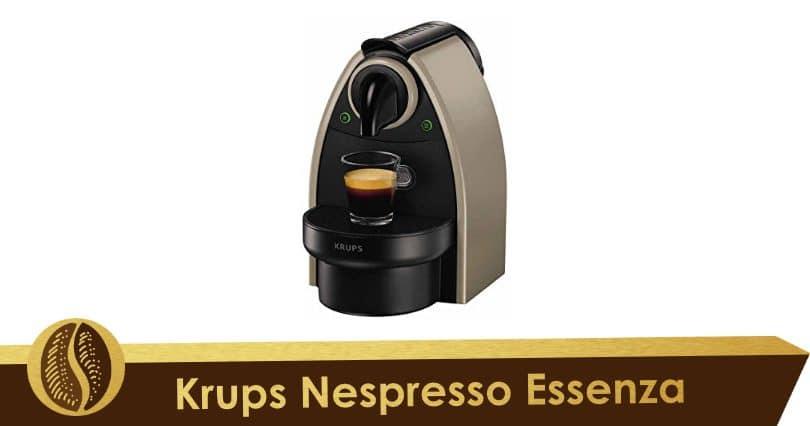 Eficiencia y robustez con Krups Nespresso Essenza
