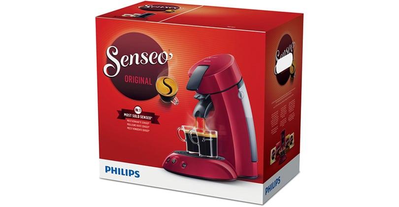 Único y económico el Senseo Original de Philips