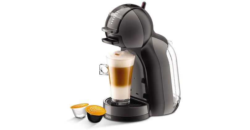 Con su forma redondeada, el Nescafé Dolce Gusto Mini Me