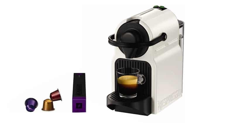 Pequeño y colorido, el Krups Nespresso Inissia