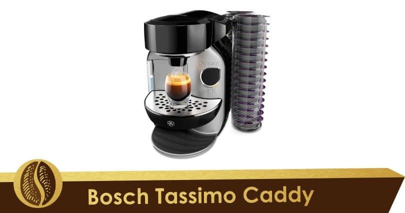 Discreta y respetuosa con el medio ambiente, la Bosch Tassimo Caddy