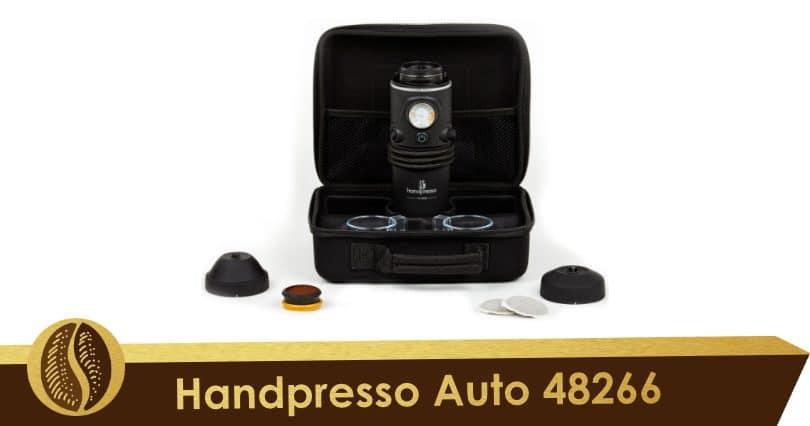 Lo mejor de la gama en el coche, el juego de cajas Handpresso Auto 48266