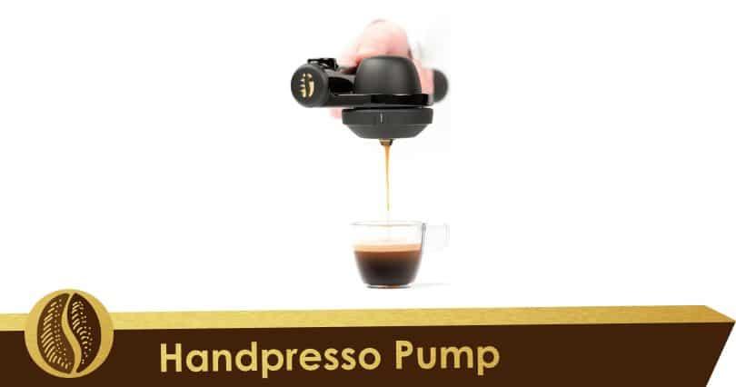 Sin baterías o electricidad, Handpresso Pump Negro