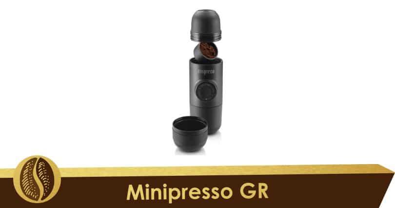 Compacto y móvil el Minipresso GR