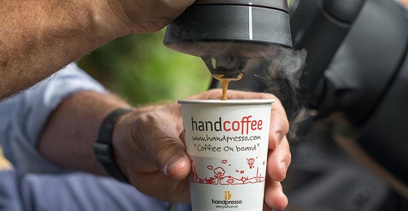 Diseño y compacto, Handpresso Handcoffee Auto