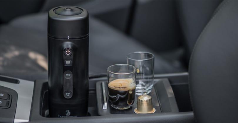 Handpresso Auto cápsula, un café Nespresso en el coche