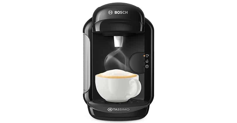 El totalmente automático Bosch Tassimo Vivy 2