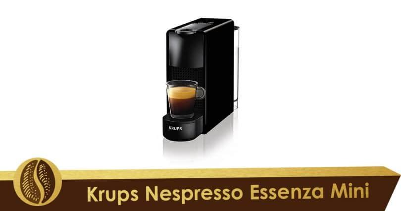 Minimalismo con Krups Nespresso Essenza Mini