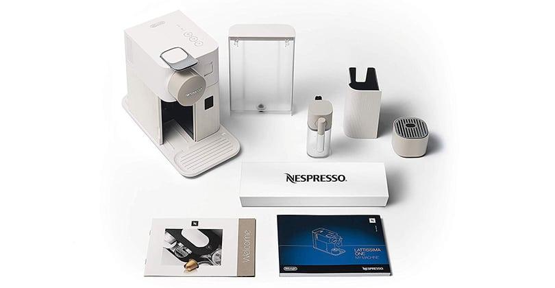 Nespresso Lattissima One, discreción y elegancia