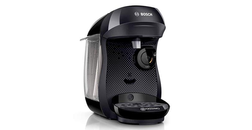 Bosch Tassimo Happy TAS1002 negro, básico y eficiente