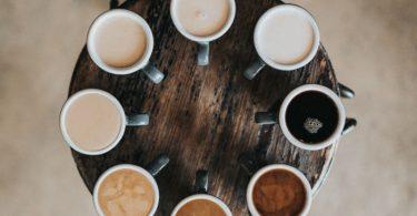 Ronde des cafés sous toutes ses formes